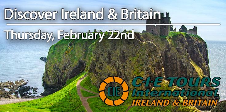 CIE Tours Distinctive Travels Event