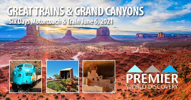 Great Trains and canyons Tour